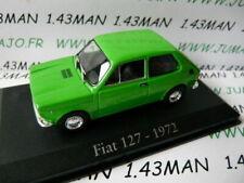 RBA38H Car 1/43 Rba Italy Ixo : Fiat 127 1972 Green