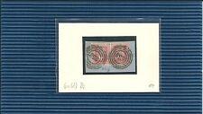 Preußen Nr.-Stpl. 258 Coeln / 2 x klar auf dekor. Briefstück m. 6a(2)