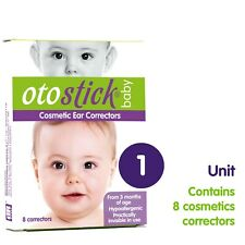 8 X Otostick Bebe Baby Infant Ear Correctors With Head Cap