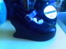 DEMONIA  Platform Wedge Mary Jane Goth Lolita Punk 11 M GOTH WITCH HALLOWEEN
