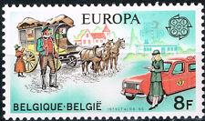 Belgium Mail Coach and Car 1979 stamp MNH