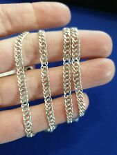 925 Silver Thick Long Chain Necklace. 80cm.