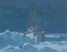 Gagnon Clarence Arctic Night Canvas 16 x 20   #3284