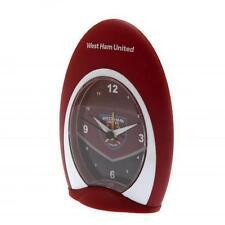 More details for west ham united quartz alarm clock football fan gift official licensed