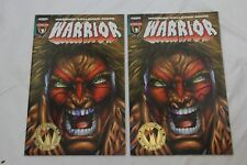Autographed Ultimate Warrior Comic Book WWE #1 Chicago San Diego Comicon 1996