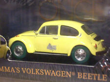 GREENLIGHT 1/43 EMMA SWANS VW BEETLE ONCE UPON A TIME RARE CHASE CAR GREEN TYRES