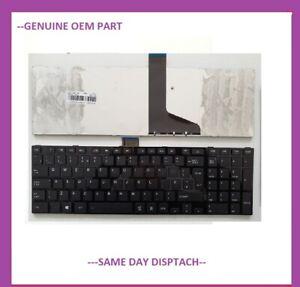 TOSHIBA SATELLITE C850D-11K Black Keys UK Layout Laptop Keyboard