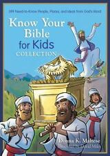 Know Your Bible for Kids Collection: 399 Need-to-Know People, Places, and Ideas