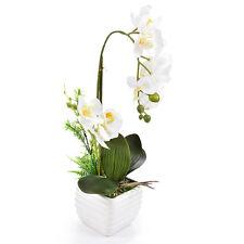 Butterfly Orchid Silk Flower Home Wedding Decor Artificial Phalaenopsis Bonsai