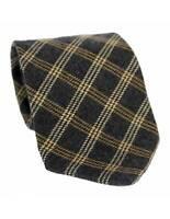 Les Copains Tie Vintage Rhombus Wool Beige Blue