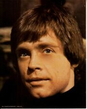 STAR WARS RETURN OF THE JEDI original 8x10 vintage '83 color MARK HAMILL CLOSEUP
