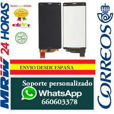 Pantalla Completa para Sony Xperia Z3 Mini Compact Negra Tactil + LCD Negro