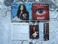 YNGWIE J MALMSTEEN*S RISING FORCE Attack!! CD JAPAN OBI + Picture Card