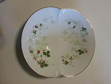 Wedgwood White Bone China WILD STRAWBERRY Serving Marriage Bowl Rare Pastel NICE