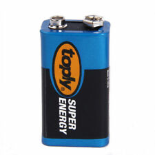 1PC 9V Zinc Carbon Battery 6LR61 6F22 MN1604 Alkaline Batteries Multimeter TOPLY