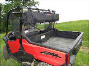 Polaris General Universal UTV Heavy Duty Easy Mount Double Gun Carrier Black NEW