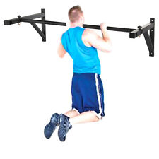 Wall Mounted Multi Wide Grip Chin/Pull Up Bar Home Gym Chinning Exercise