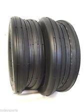 Two New 18x8.50-8 4 Ply Deestone  Rib Lawn Mower Tires  18x8.50x8 DS7226