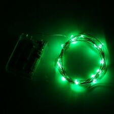 LED Micro String Lights 6 Feet Long, Battery Operated Assorted Colors