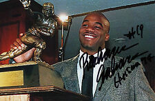 Heisman Rashaan Salaam Colorado 1994 SIGNED 4x6 PHOTO AUTOGRAPHED