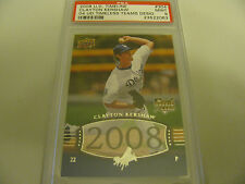 2008 Upper Deck Timeline #304 04 Timeless Teams Design Clayton Kershaw RC PSA 9