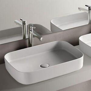Cielo Shui Comfort lavabo da appoggio rettangolare 60x40