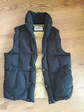 Penfied Downvest / Gilet / Body Warmer / Shawl Neck  - Size Large - Navy Blue