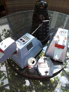 Doctor Who K-9 remote control WORKING + Dalek and another K9 no remote