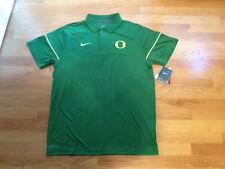 NWT Nike Dri-Fit Oregon Ducks Green Polo Shirt (Men's Large)