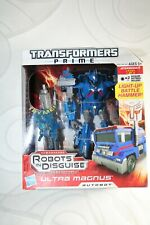 "Transformers Prime Robots In Disguise ""Ultra Magnus Autobot"" Level 2 - NEW -"