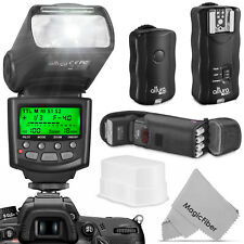 I-TTL Speedlite Flash Kit with Wireless Trigger for NIKON DSLR by Altura Photo®