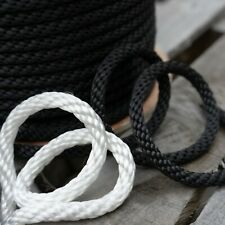 Solid Braid Nylon Rope Marine Utility Dock Lines Industrial Cargo Tie Down Tents