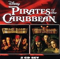 PIRATES OF THE CARIBBEAN 1 + 2 2 CD OST NEW+