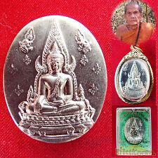 2543 BE MAGIC COIN Phra Buddha Chinarat LP Moon Lucky Rich THAI BUDDHA AMULET