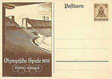 GERMANY - POSTAL STATIONERY - THIRD REICH - OLYMPIC GAMES - BERLIN - 1936