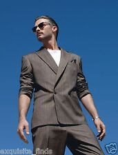 BRAND NEW VERSACE TAILOR MADE SILK WOOL SUIT  50 - 40