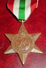 MEDALS-ORIGINAL WW2 BRITISH ITALY STAR