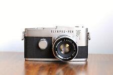 OLYMPUS PEN F  Half Frame SLR Camera  1st Gen Gothic F   w/ F.Zuiko 38mm f/1.8