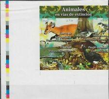 O) 2009 Peru, Proof, Animals In Danger Of Extinction, Blastocerus Dichotomus-Pel