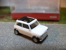 1/87 Herpa Mini Cooper geöffnetes Faltdach weiß 028592