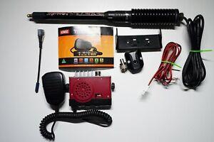 GME TX3100 Super Compact Two Way UHF CB Radio 5W 80CH Kit + Antenna / mount
