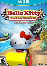 Hello Kitty Kruisers With Sanrio Friends (Nintendo Wii U, 2014) - NEW!