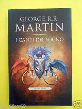 libri fantasy libro mondadori george r.r. martin i canti del sogno volume primo