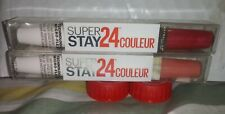 MAYBELLINE SUPER STAY 24 HOUR COULEUR LIPCOLOR unsealed