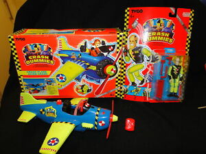 Boxed Crash test Dummies Plane & Carded (opened) Chip figure TYCO