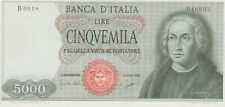 More details for p98a italy 5000 lire dated 1964 in extremely fine to near mint condition.
