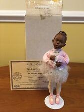 "All God's Children, Miss Martha Holcombe doll: Ballerina ""Anika� #2600, Coa"