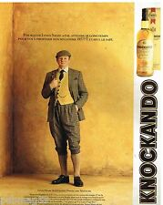 Publicité Advertising 1991 Scotch Whisky Knockando Innes Shaw