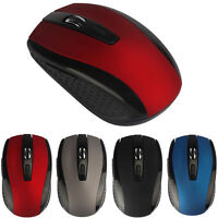 Regolabile 1600DPI 2.4G USB Mouse Ottico Wireless Mouse Mini Mice per Laptop PC