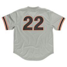 4a07fd63d Will Clark 1989 Giants MLB Mitchell   Ness Batting Practice Jersey Men 48 XL